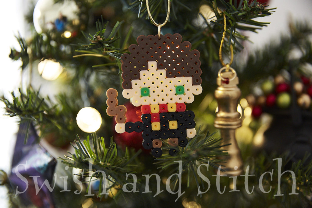 Harry Potter Perler Bead Character And House Crests Ornaments Swish And Stitch